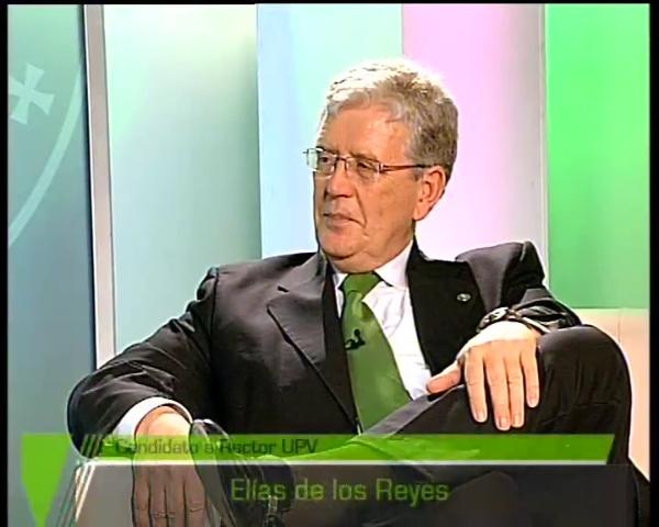 Entrevista Elías De los Reyes en UPTV