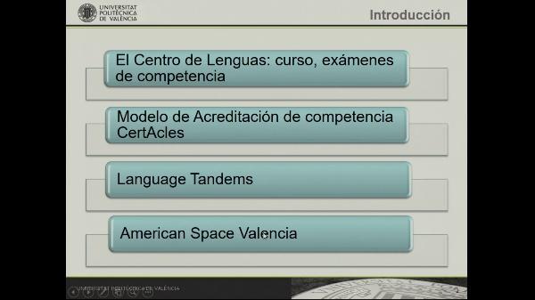 Bienvenida estudiantes intercambio - Centro de Lenguas - American Space Valencia