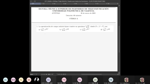 Cuestiones de examen de Parámetros de Antenas