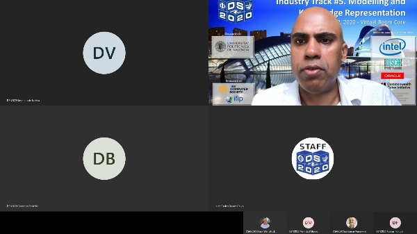 DSN2020 - Industry Track - Session 5 - Modelling and Knowledge Representation