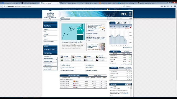 Información webs bursatil