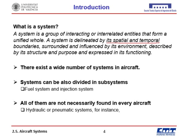 2.6. Aircraft systems