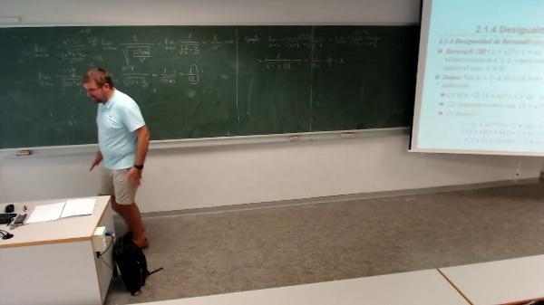 Matemáticas I-4-10-Explicación de la desigualdad de Bernoulli y ejemplo