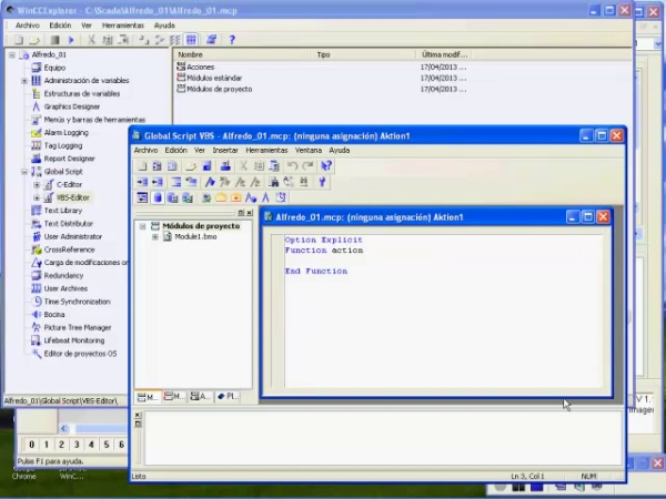 Creación de Scripts con Visual Basic