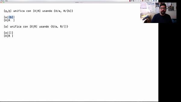LTP. Tema 4. Programación lógica: modelo de ejecución. Unificación (y II)