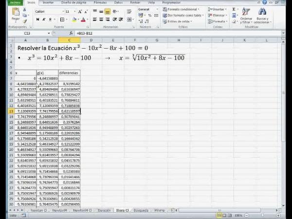 MN-EA-09-17 Método de Iteración en Excel (1)