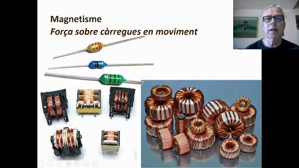 Magnetisme: força sobre càrregues en moviment (forces de Lorentz)