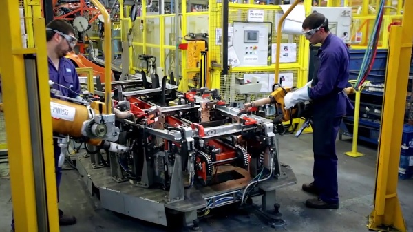 Proceso productivo furgoneta Ford