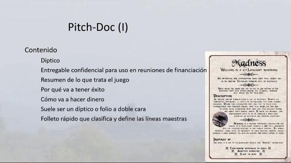 Pitch-Doc y Documento de Concepto