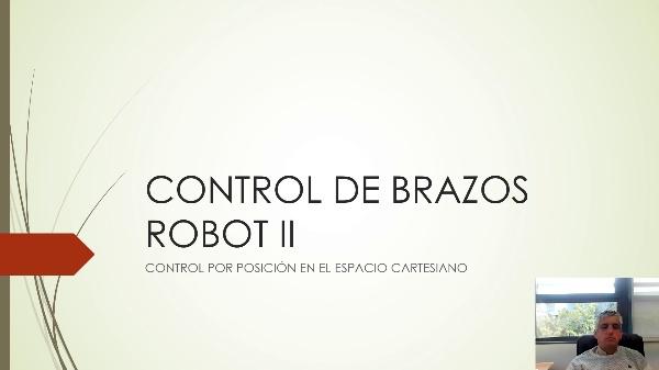 Control de brazos robot II