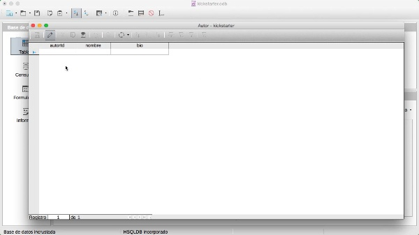 Formularios simples en LibreOffice