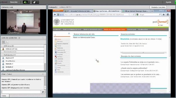 Presentación Máster en Administración Concursal y Curso Especialista.