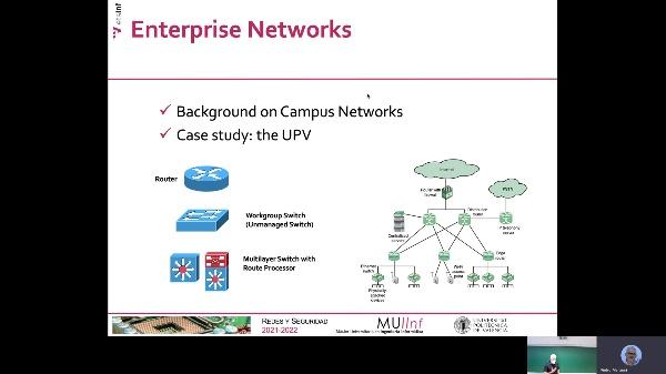 Seminario (1): Redes Corporativas (UPV)