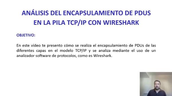Análisis del encapsulamiento en la pila TCP/IP con Wireshark