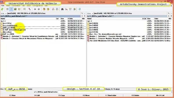Creación Virtual Mecanismo a-c-0658 con Solidworks - 04 de 10
