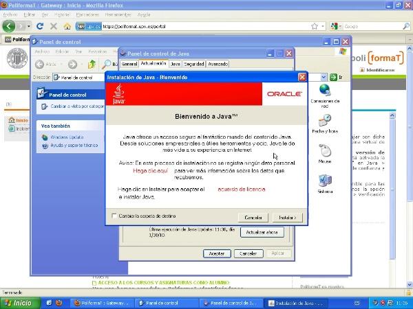 Configuración de Java para el Padrino 2