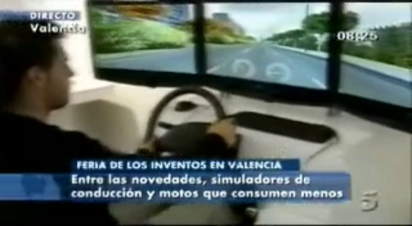 Feria de los Inventos 2010 (noticia en Telecinco)