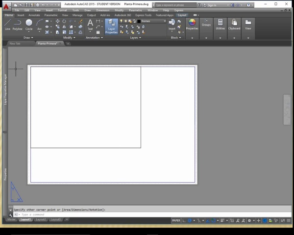 Viewports inPaper space with AutoCAD