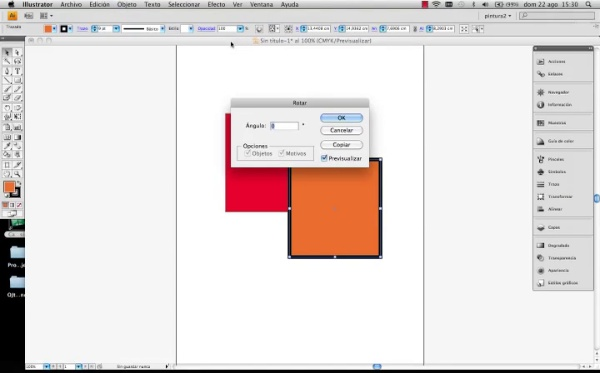 Adobe Illustrator Herramienta escala