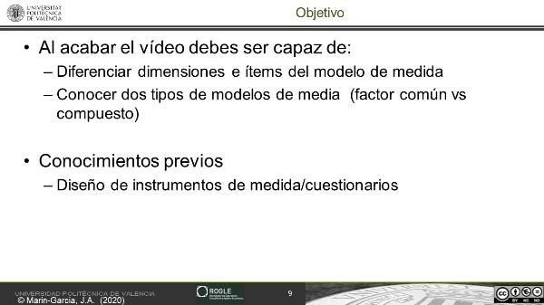 Codificación en revisiones sistemáticas: como identificar el modelo de medida dimensiones e items