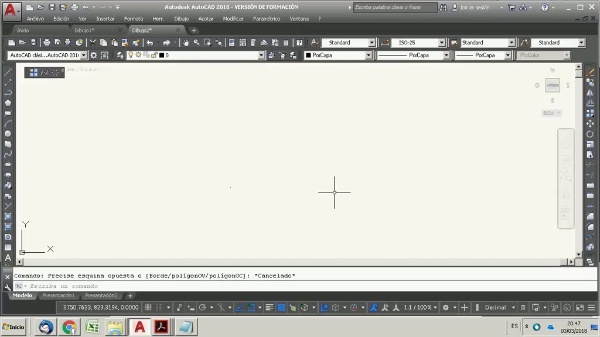 Autocad for Airport engineering 2. Drawing the runway