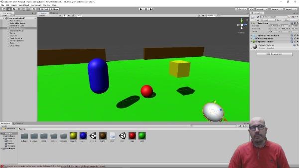Transformaciones en Unity 3D