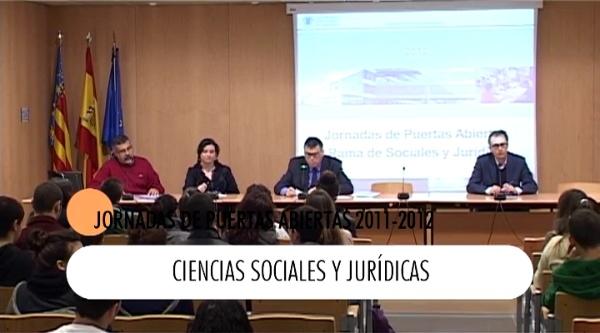 Jornadas Puertas Abiertas: Ciencias Sociales y Jurídicas