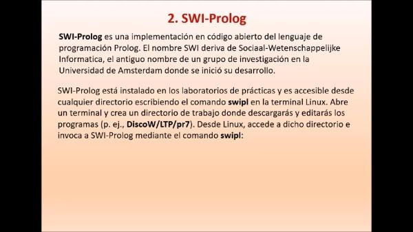 Practica 7 LTP: Introducción a Prolog