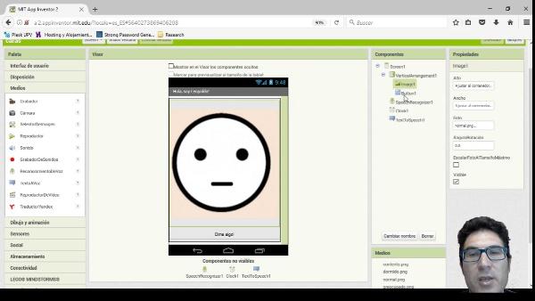 App Inventor2 Reconocimiento y Sintetización de Voz