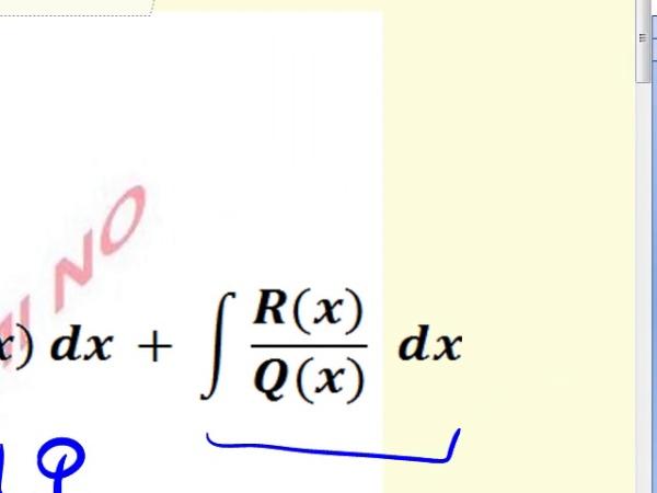 Método de Integración por Fracciones Simples - 1