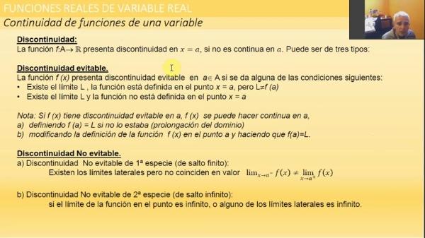 M1-ELE-132 Continuidad discontinuidad