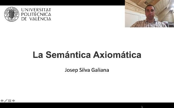La Semántica Axiomática de los Lenguajes de Programación