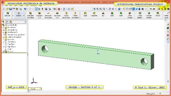 Creación Virtual Mecanismo a-z-1111 con Solidworks - 4 de 5
