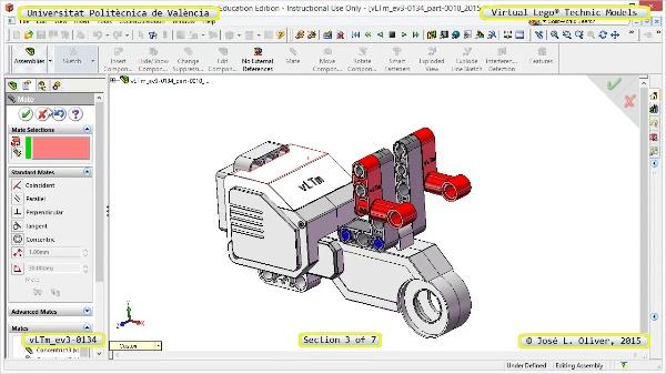 Creación Virtual Modelo Lego Technic - Isogawa ¿ ev3-0134 ¿ 3 de 7