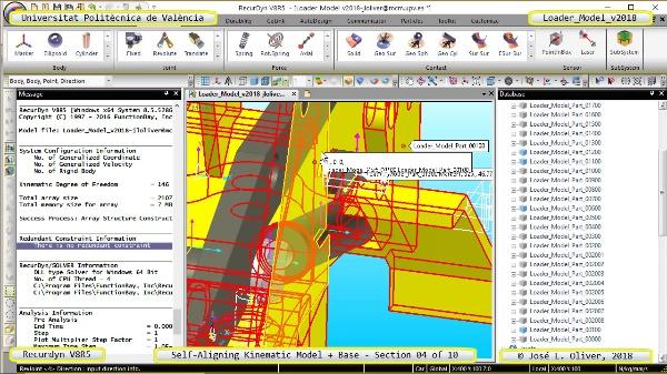 Simulación Dinámica de Cargadora Volvo L70C con Recurdyn V8R5 - 04 de 10
