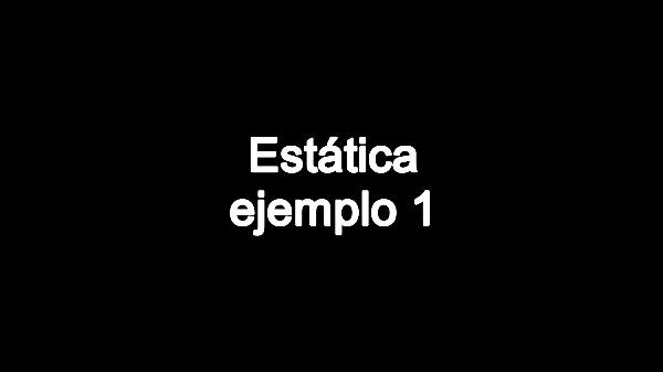 Estática. Ejemplo 1 C