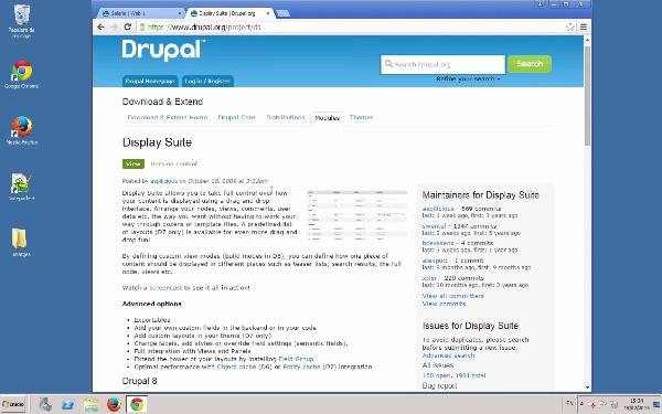 Maquetació dels continguts en Drupal amb amb Display Suite