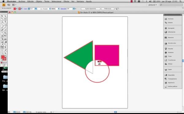 Adobe Illustrator Herramienta Pintura Interactiva
