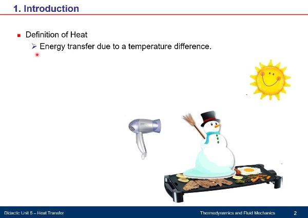 Didactic Unit 5. Heat Transfer - Part A