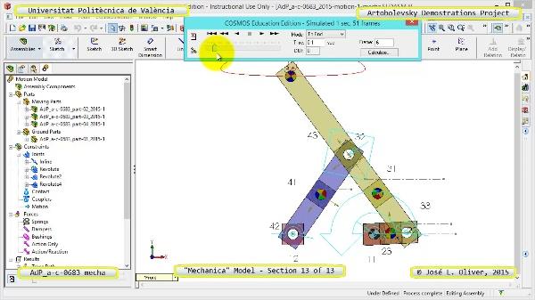 Simulación Mecanismo a-c-0683 con Mechanica - 13 de 13