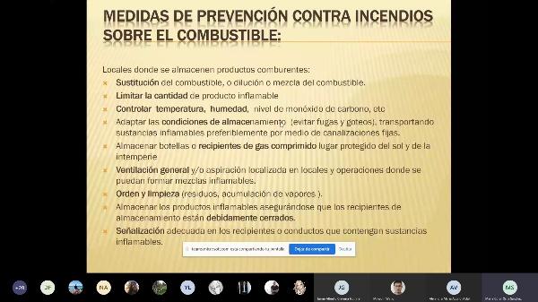 Clase CRIIA 14 de mayo: Instalaciones de protección contra incendios IIIA