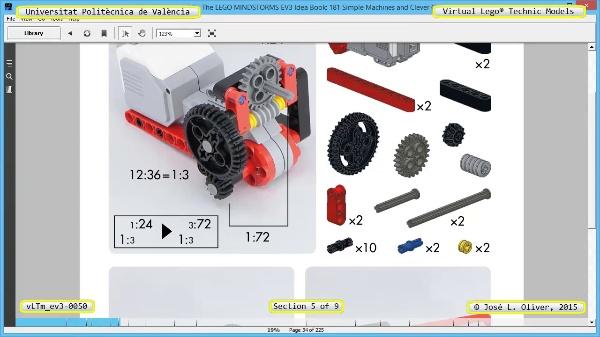 Creación Virtual Modelo Lego Technic - Isogawa ¿ ev3-0050 ¿ 5 de 9