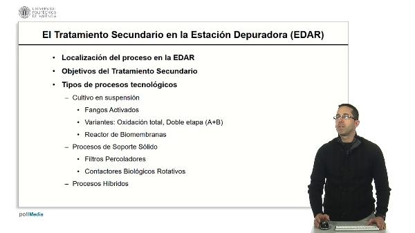 El Tratamiento Secundario en la EDAR