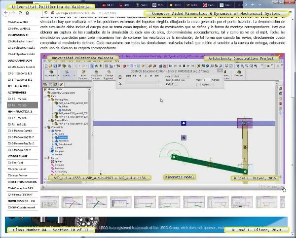 Mecánica y Teoría de Mecanismos ¿ 2020 ¿ MM - Clase 04 ¿ Tramo 10 de 11