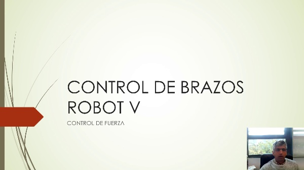 Control de brazos robot V