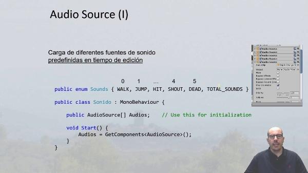 Componentes de sonidos 3D en Unity 3D