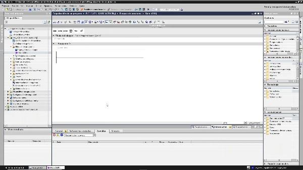 Organización de un proyecto en TIA Portal V15 1