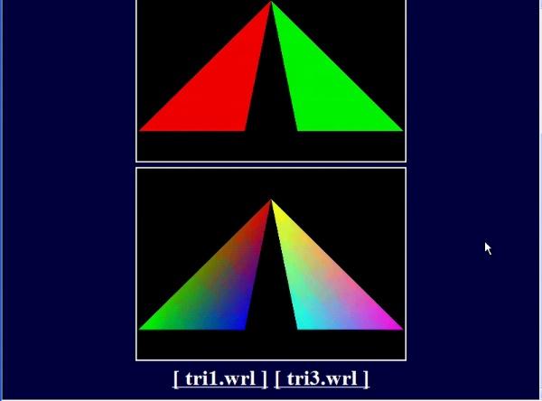 Color en VRML