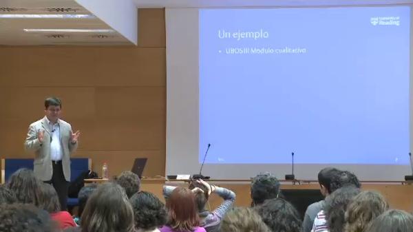 Carlos Barahona - Combinando cuantitativa y cualitativa en la elaboración de estadí