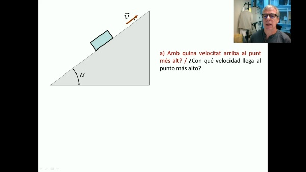 Dinàmica. Llei de Newton. Exemple 2 V
